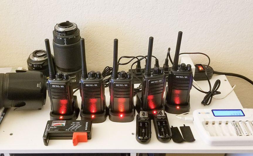 Radios for communication