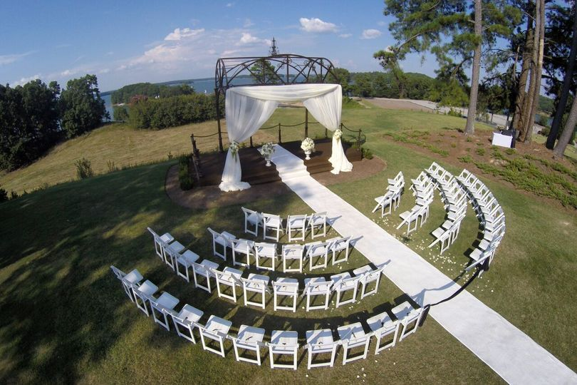 White wedding motif
