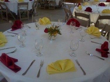 Tmx 1402528195588 Fanfoldplacesetting Eugene wedding catering