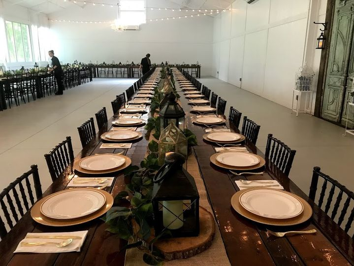 We can set tables for you