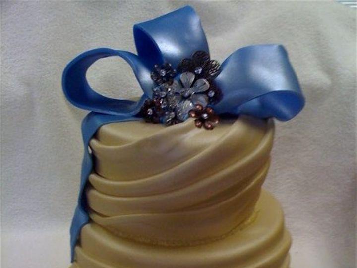 Tmx 1277274860364 Leilasweddingcake Meridian wedding cake
