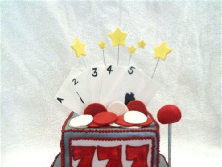 Tmx 1277275498505 Slotmachinecake Meridian wedding cake