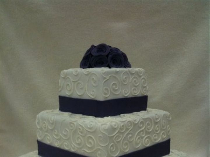 Tmx 1277275669848 Willisweddingcake Meridian wedding cake
