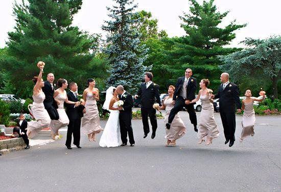 JUMP!!! wedding party favorite