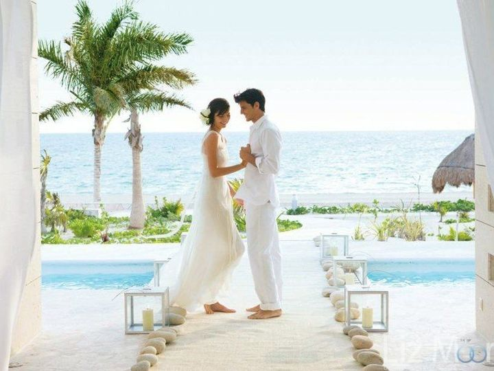 Tmx Excellence Playa Mujeres Wedding Couple On Sand 51 1897369 157507607325821 Point Roberts, WA wedding travel