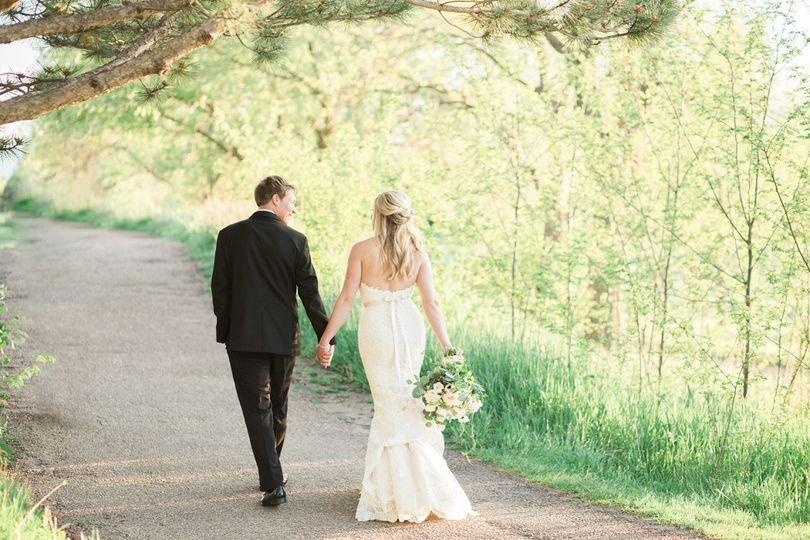 real denver wedding wellshire event center blue pi