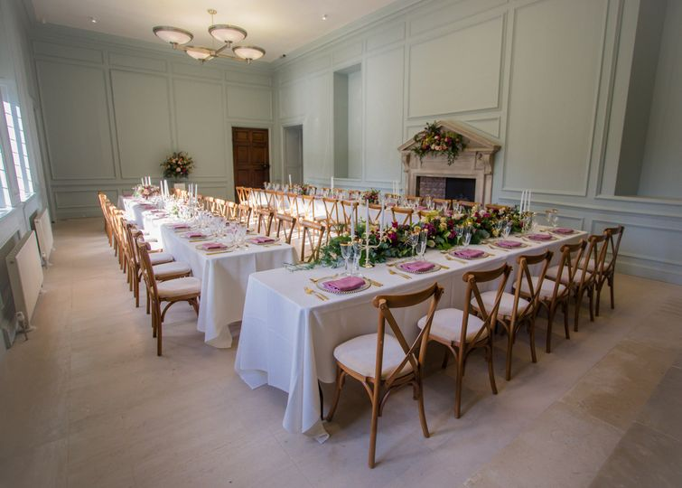 Shaw House Weddings -Main hall