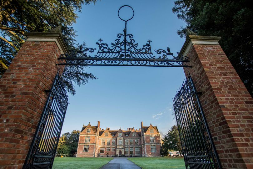 Shaw House - Gate exterior