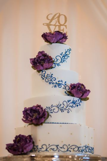 Wedding cake | By Concept Studios Photography