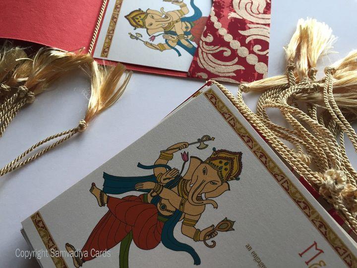 Indian Invite Dancing Ganesha