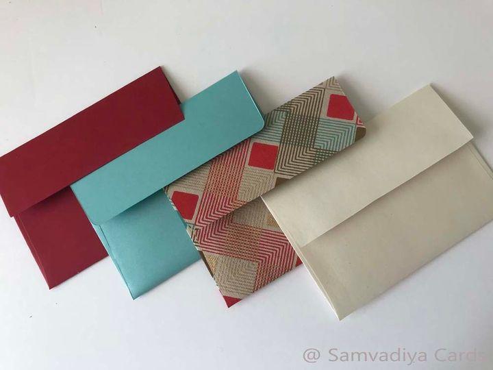 RSVP envelopes choices