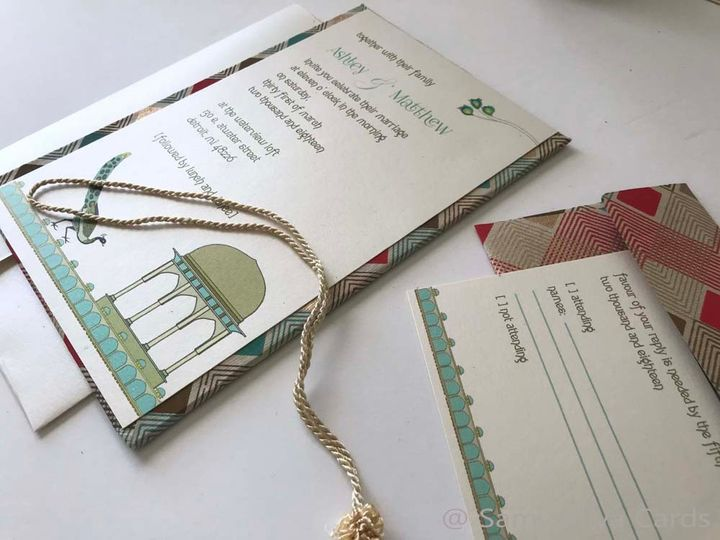Indian Wedding Invite Mandu