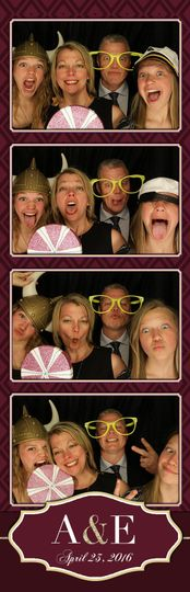 Traditional photo booth fun!