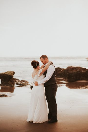 Pacific City Elopement