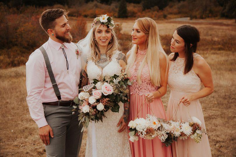 Silver Falls Wedding