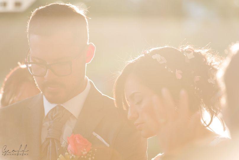 Praiyng for the newlyweds