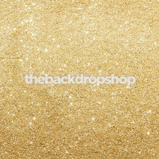 Gold Glitter Backdrop