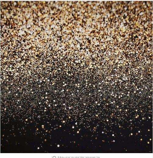 Black Ombre Glitter Backdrop