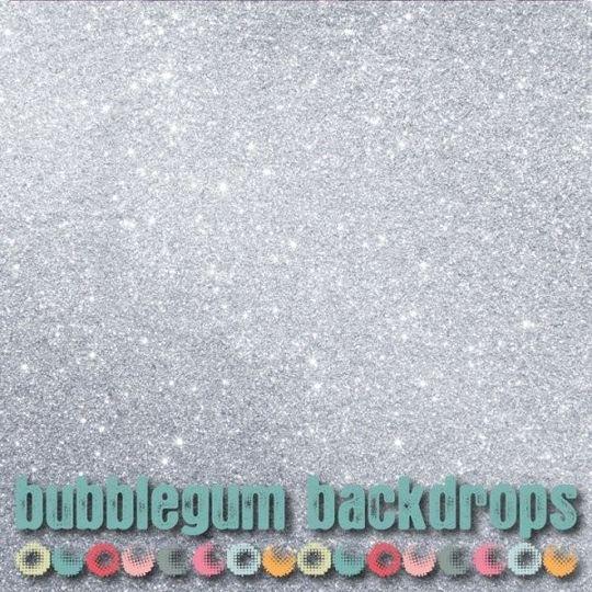 Silver Glitter Backdrop