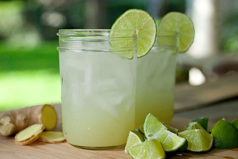 ginger lime soda lead
