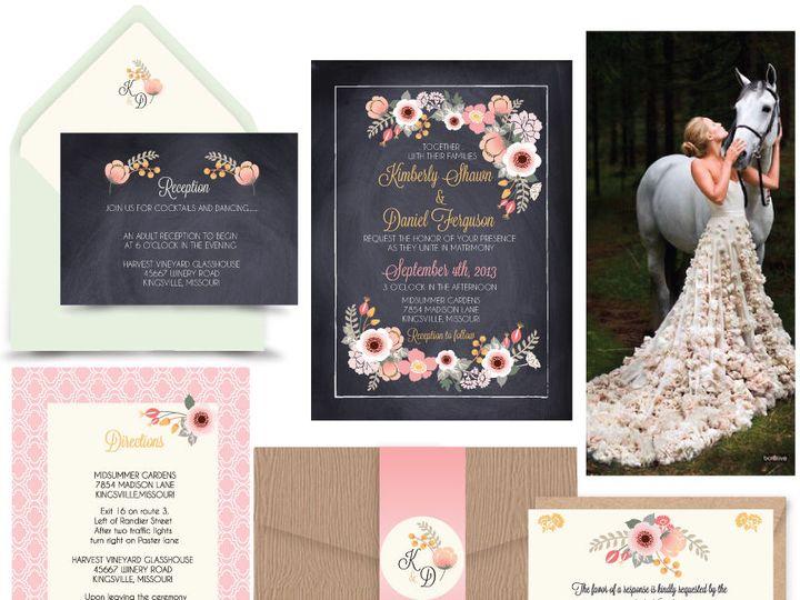 Tmx 1519502346 9864c463b47581d4 1519502344 Dc778d21ab9e3582 1519502344300 8 Southern Belle 72d Bergenfield wedding invitation