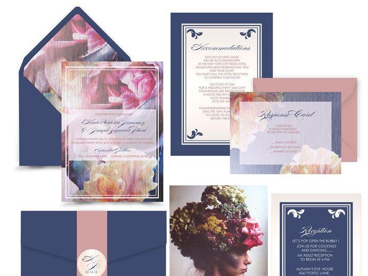 Tmx 1519503019 2d0b31893d1a9c63 1519503018 Bbcde6b59de6229b 1519503017716 10 Midnight Romance  Bergenfield wedding invitation