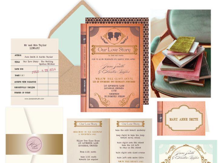 Tmx 1519503083 B7f89ba9c8efb817 1519503082 2f93cf4907775e58 1519503082049 14 Love Story 72dpi Bergenfield wedding invitation