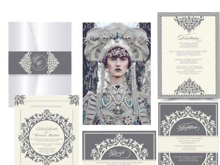 Tmx 1519503098 E60f40b47b5bdba0 1519503097 Ab3f47558af423d6 1519503096546 15 The Duchess 72dpi Bergenfield wedding invitation