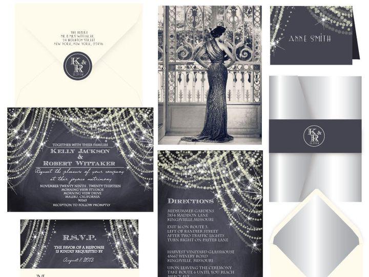 Tmx 1519503110 Eb3e77eaa536c948 1519503109 B0f23aa7f8745099 1519503108364 16 Deco Noir 72dpi Bergenfield wedding invitation