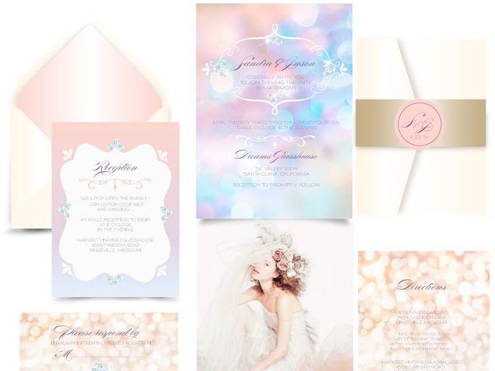 Tmx 1519503235 97dd8aef5825369c 1519503234 1fce200ee2555f5d 1519503233971 20 Heavenly 12x12 Bergenfield wedding invitation