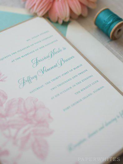 Tmx 1326370637731 BotanicalBreezeFeature Cary wedding invitation