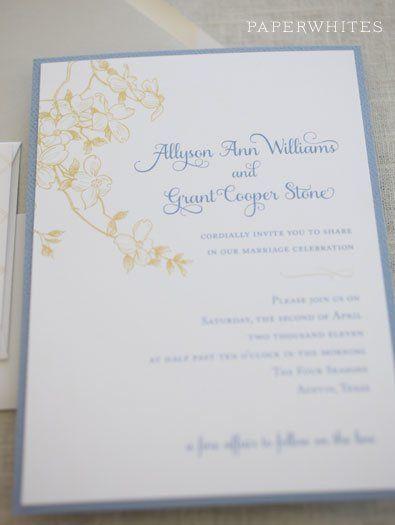 Tmx 1326370640754 DogwoodImage Cary wedding invitation