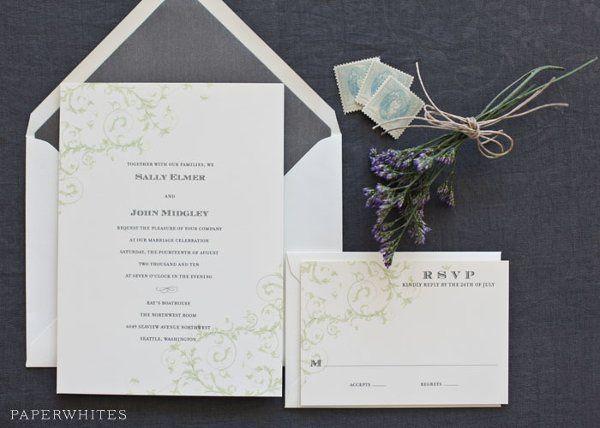 Tmx 1326370646131 FloralScrollLarge Cary wedding invitation