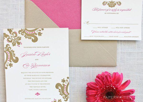 Tmx 1326370652220 LindsayLetterpressFeature Cary wedding invitation