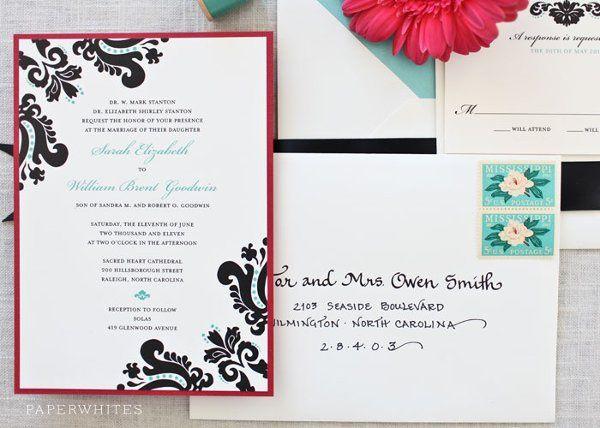 Tmx 1326370653606 LindsayLarge Cary wedding invitation
