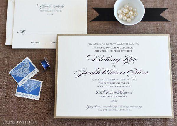 Tmx 1326370657270 MaryJane2 Cary wedding invitation