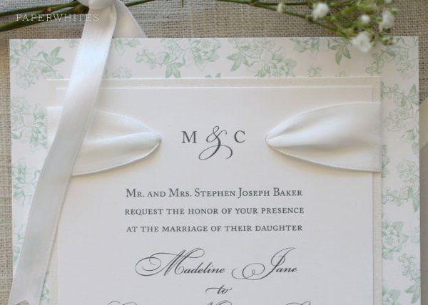 Tmx 1326370674774 SpringFloralRibbon Cary wedding invitation