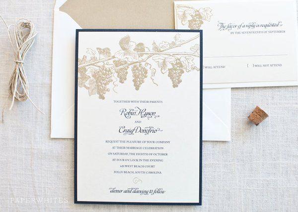 Tmx 1326370679827 WineLarge Cary wedding invitation
