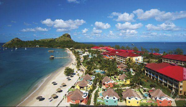 Sandals Grande St. Lucia 1
