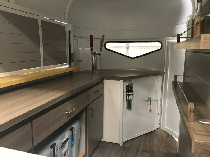 Inside of Horse Trailer