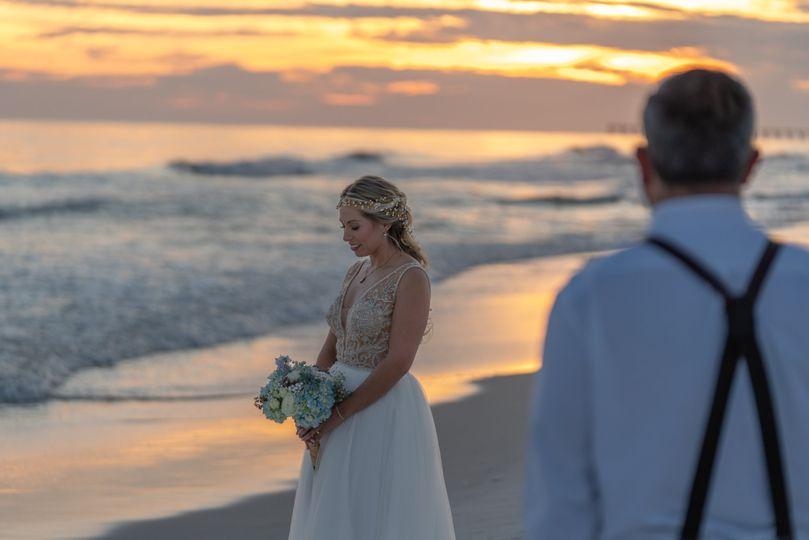 Bridal Portraits Sunset