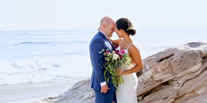 Santa Barbara Wedding For Two Elopement and Elopement Photography