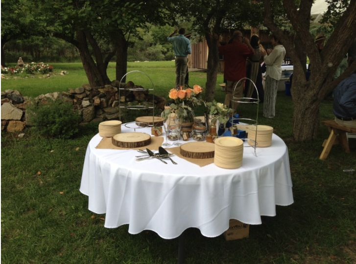 river orchard dessert table