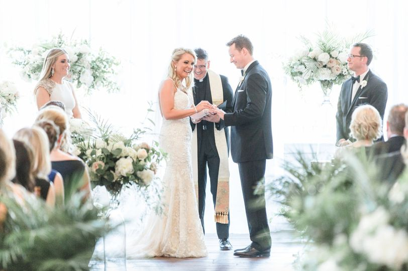 Father james st george wedding officiant pennsylvania
