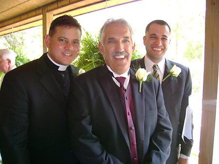Tmx 1277342361273 SeanDadJimDannieWedding Flourtown, PA wedding officiant