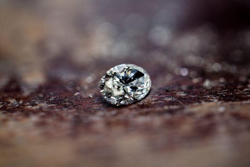 Raw Diamond Ready to be Set