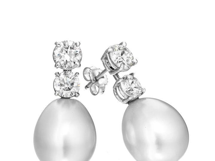 Tmx 1436305121829 Pearl Earing  Red Bank, NJ wedding jewelry