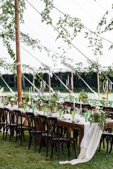 Greenery wedding in VT