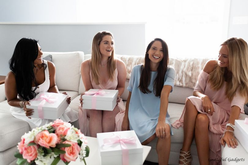 Maid Of Honor Gift Boxes