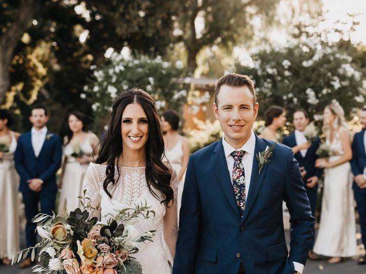Tmx Blue Floral Skinny Tie Groom Bride Flowers 51 1040569 160216473948471 Charlotte, NC wedding favor